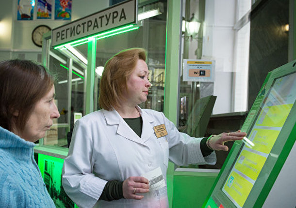 В Москве примерно 650 поликлиник оборудуют видеокамерами до конца года